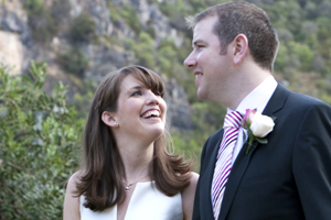 Bride and groom - Eavan and Ronan