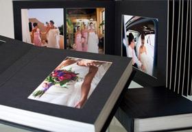 Kris produces unique, personalised wedding albums