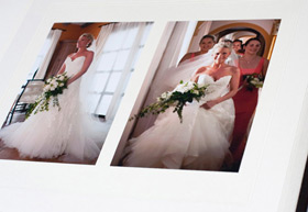 Kris creates unique wedding albums capturing all those special moments