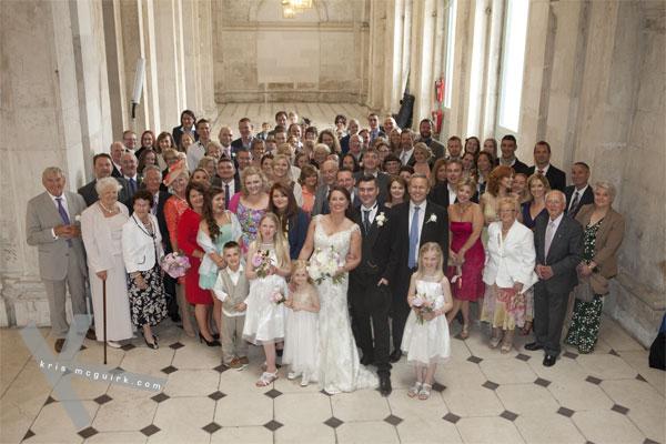 Bloom's Day wedding city hall