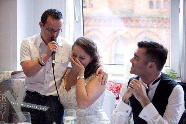 Bloom's Day wedding Fallon&Byrne