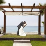 Brid and John marry in Nerja and party the night away at the Beach Club at Marinas de Nerja
