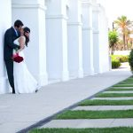 Romance all the way as Nancy and Jeremy marry in a civil ceremony in Valencia