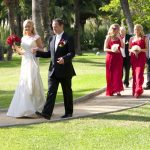 Sarah & Emmett marry in the gardens at the exclusive Don Carlos Hotel in Marbella